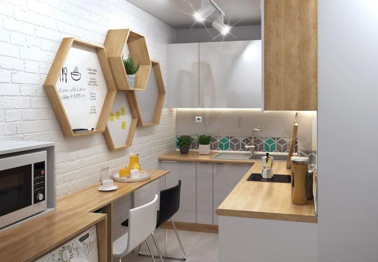 Genial revestimientos de paredes de cocina galer a de - Revestimientos paredes cocina ...