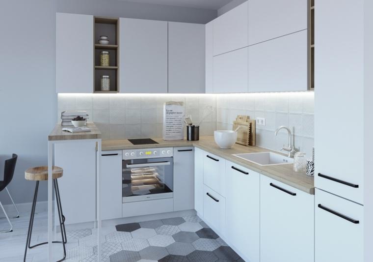 Revestimiento cocina e ideas para las paredes y salpicaderos - Revestimientos de paredes de cocina ...