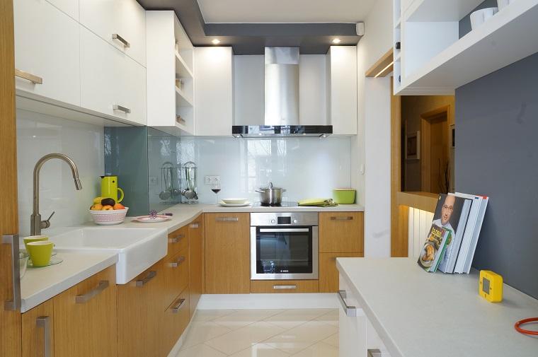 revestimiento cocina e ideas para las paredes y salpicaderos On revestimiento vinilico pared cocina
