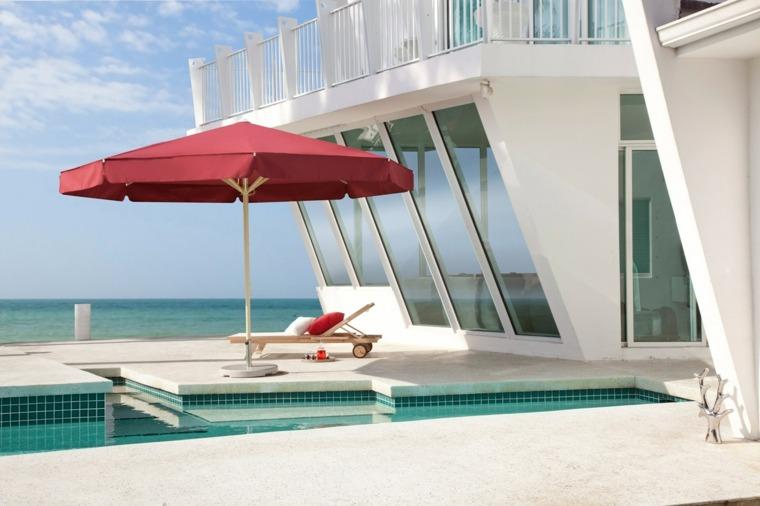 sombrillas jardín-terraza-color-rojos-estilo