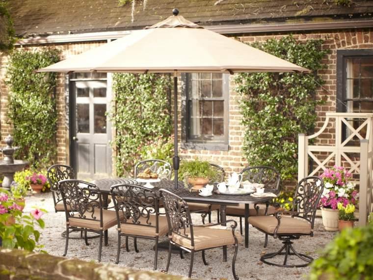 sombrillas jardín-terraza-muebles-sillas-comodidad