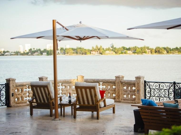 sombrillas jardín-terraza-soporte-lateral