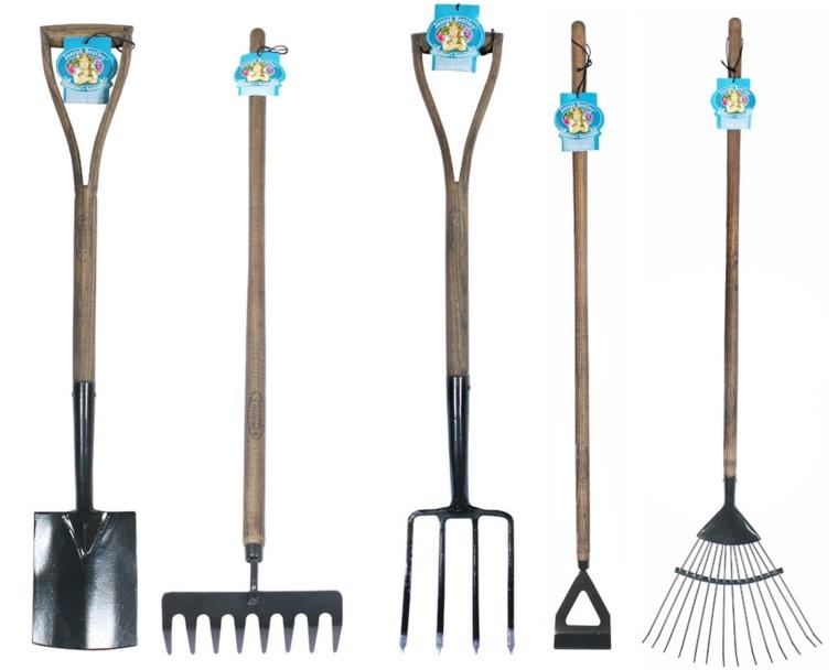 utensilios de jardineria utilziar