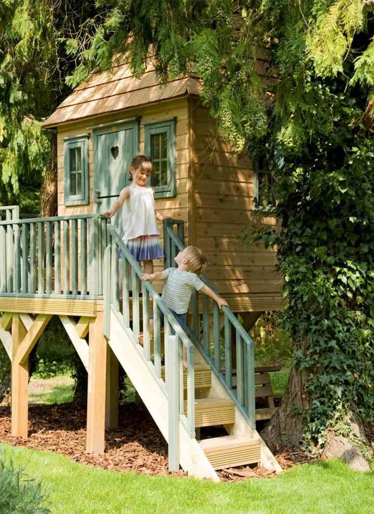 casitas de jardín para niños