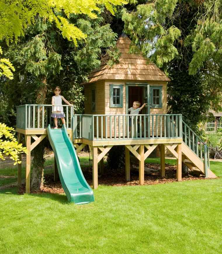 Casitas de jardin para ni os originales ideas for Casita jardin ninos segunda mano