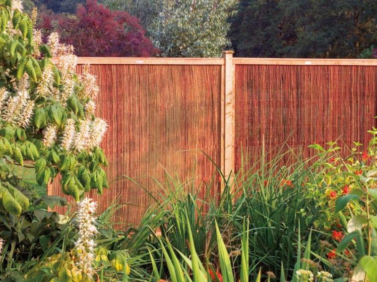 vallas de jardin bonitas