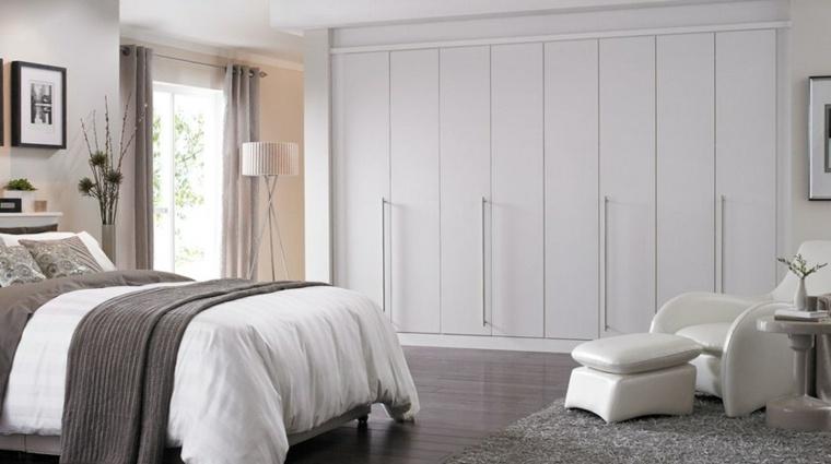 armarios empotrados modernos nlanco acabados