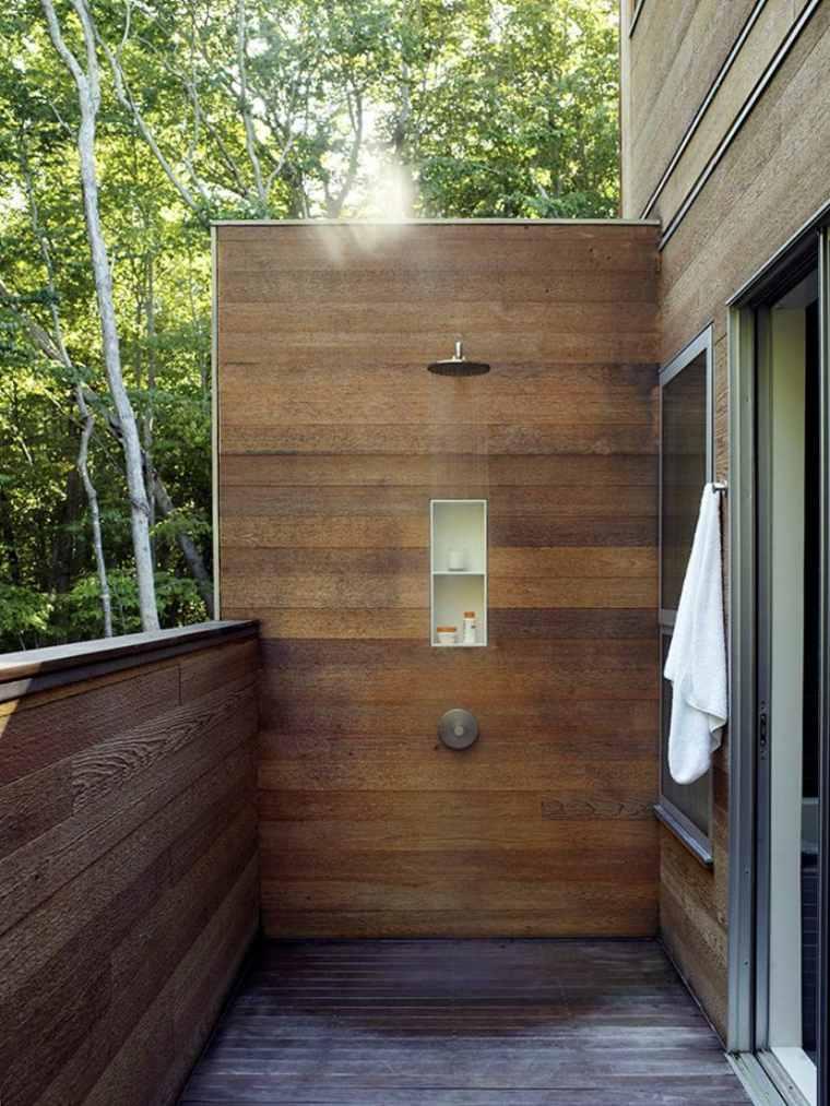 balcones de diseño con duchas