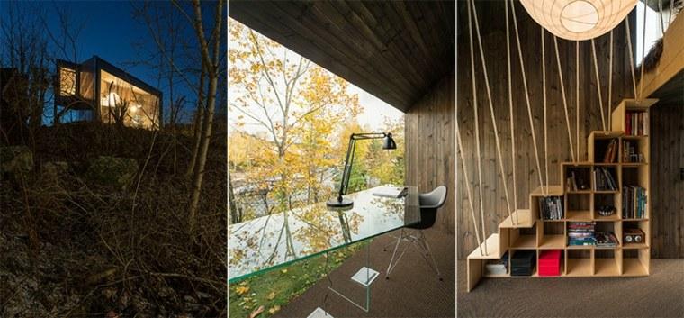 diseño de cabaña moderna