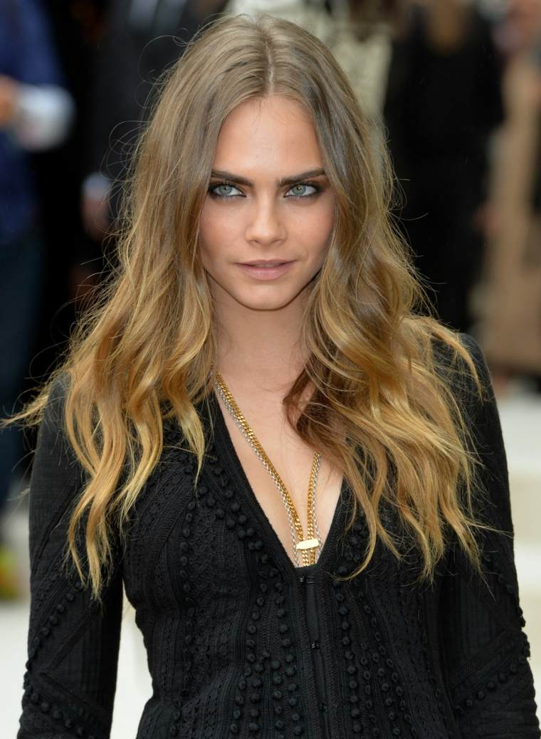 Cortes de pelo moderno para cabello largo