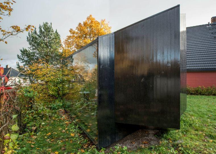 cabaña moderna