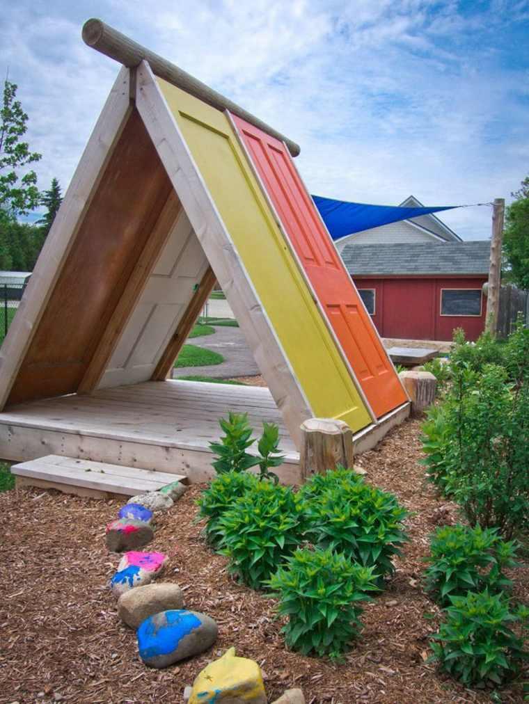 diseños de refugios para niños