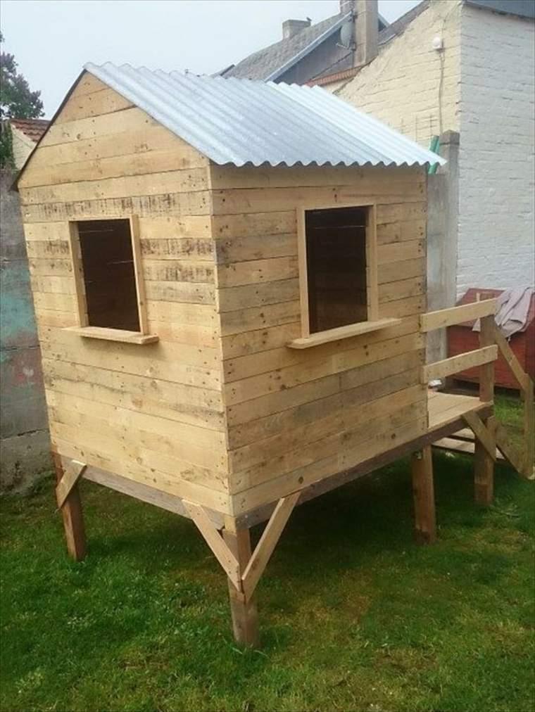Casitas nios jardin como construir casita de madera for Casas infantiles de madera para jardin segunda mano