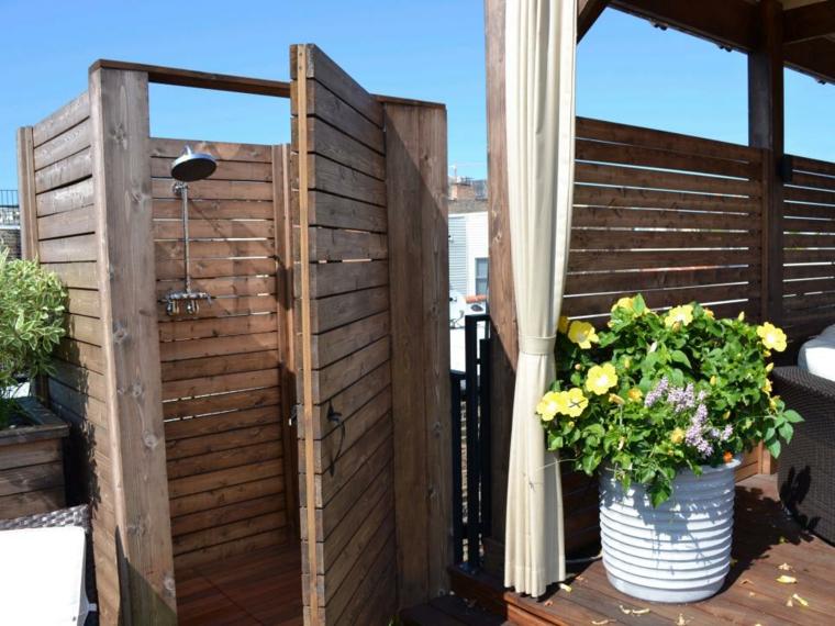 cerrada rustica puertas madera salones