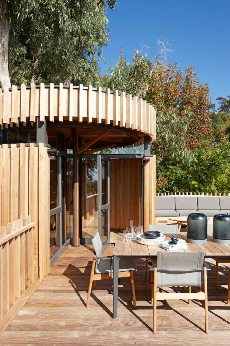 comedor aire libre exteriores casas