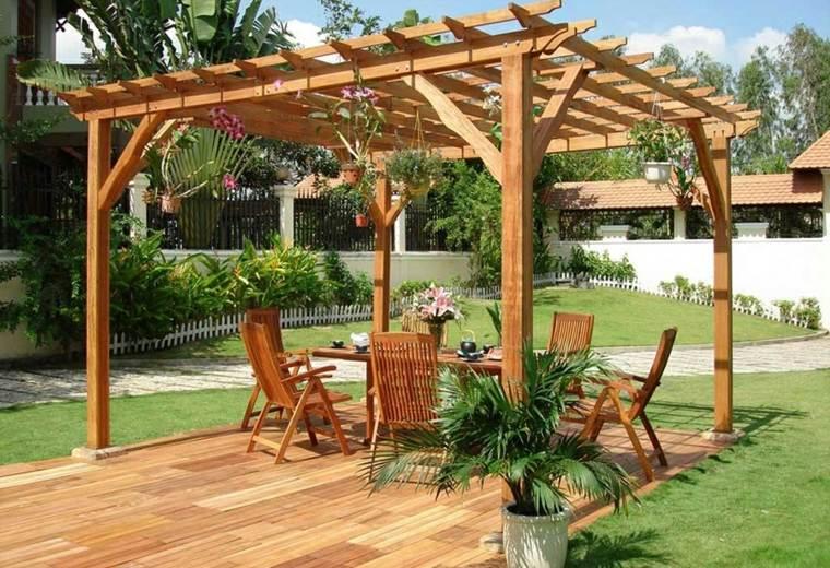 como-hacer-pergola-de-madera-jardin-diseno-moderno