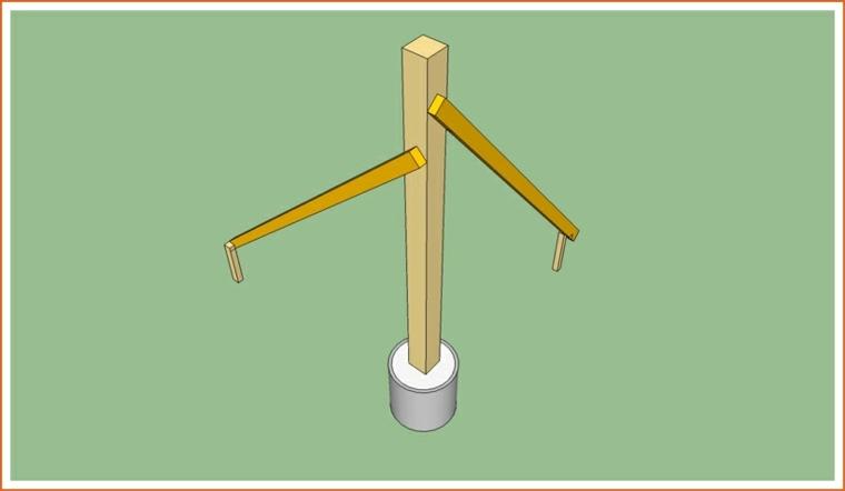 cómo hacer pérgola de madera paso-3