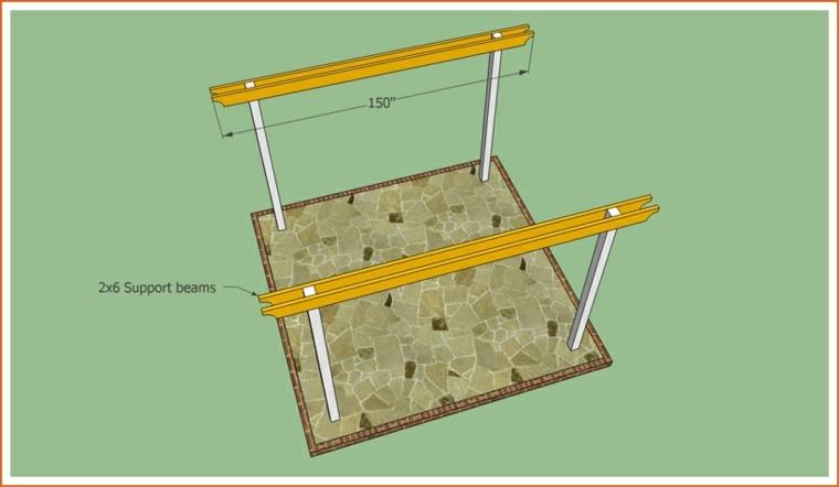 cómo hacer pérgola de madera paso-5