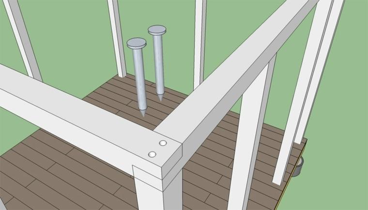 Cómo hacer pérgola de madera ideas y consejos -
