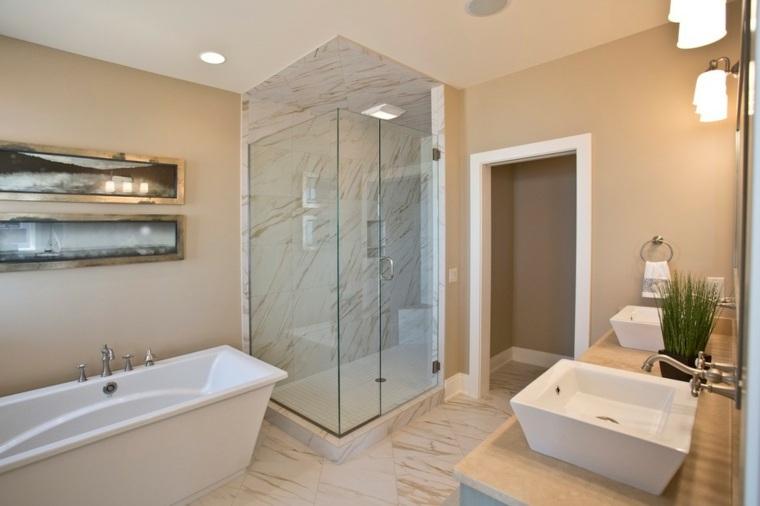 cristales conceptos modernos duchas