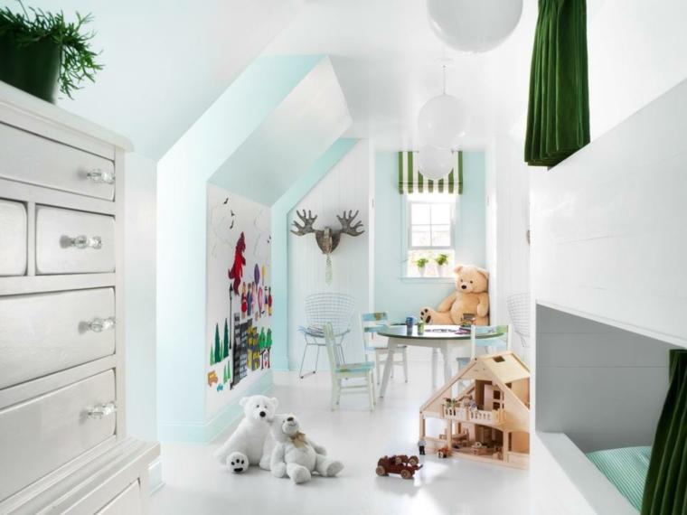estupendos diseños de dormitorios infantiles originales