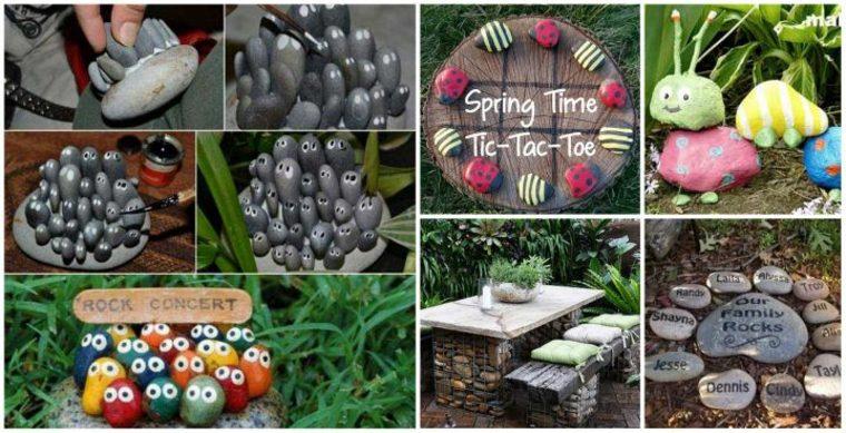 decorar jardines reciclando