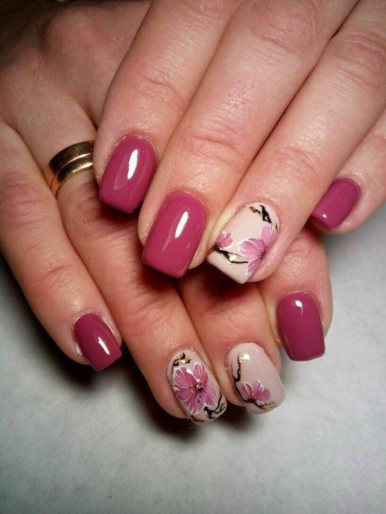 diseños de uñas fuentes colores claros