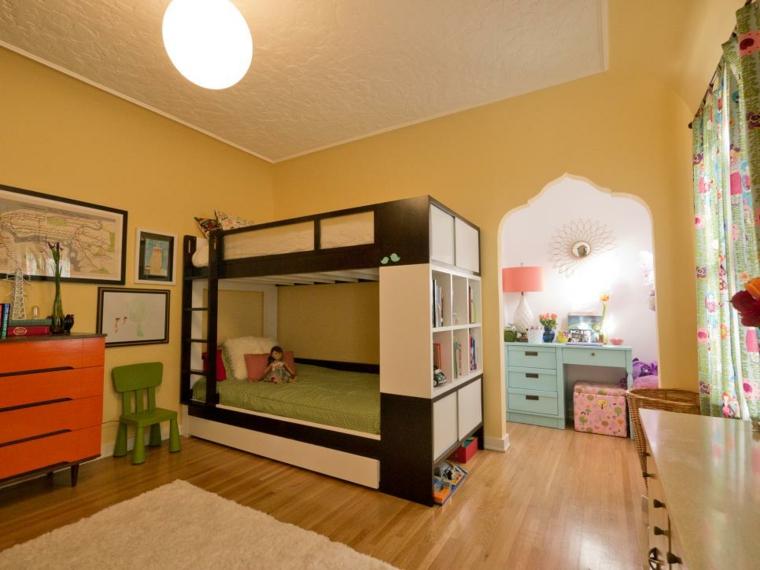 Dormitorio infantil original habitacion infantil with - Dormitorio infantil original ...