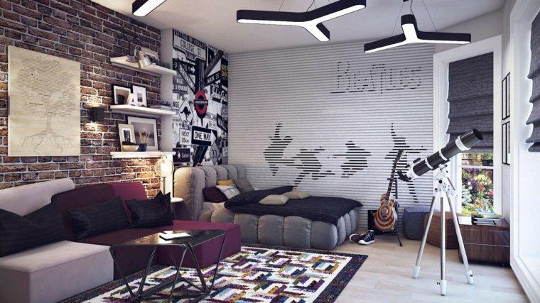 dormitorios juveniles-detalles-originales