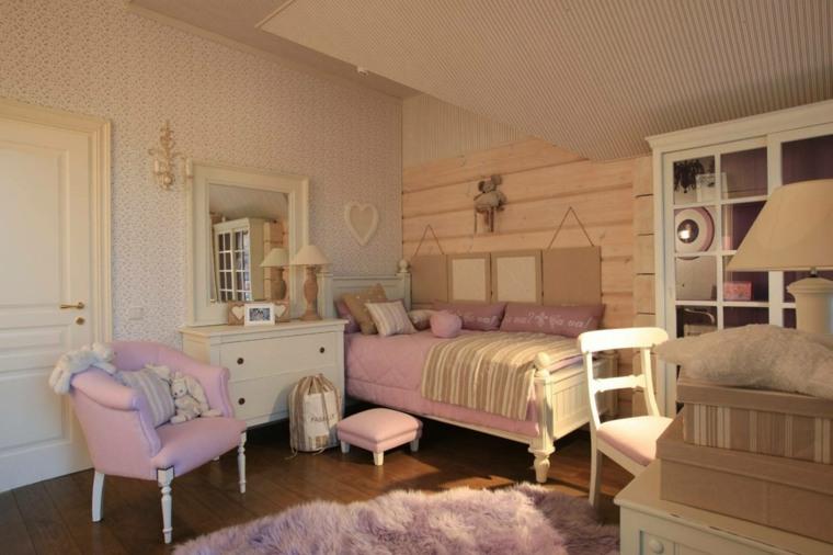 dormitorios juveniles-estilo-clasico