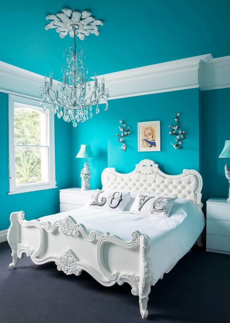 dormitorios juveniles-muebles-blancos