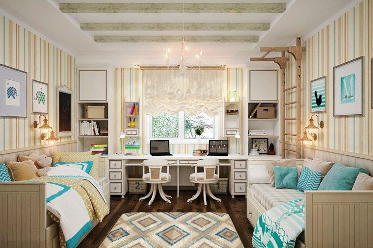 dormitorios-modernos-juveniles-dos-camas