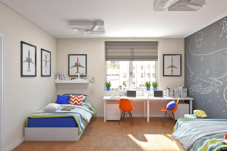 dormitorios-modernos-juveniles-dos-ninos
