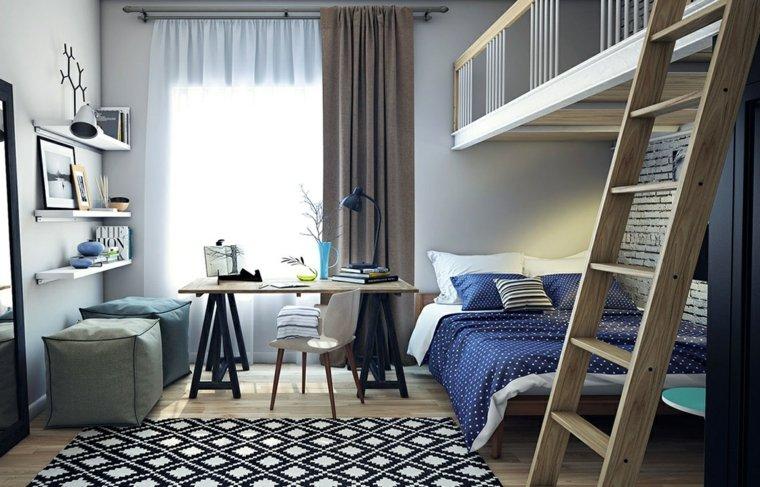 dormitorios-modernos-juveniles-opciones