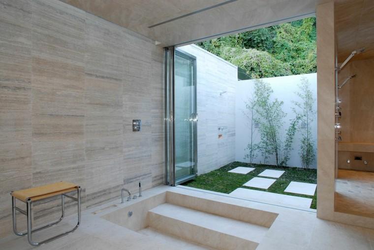 ducha diseño cerradas partes modrnas patios