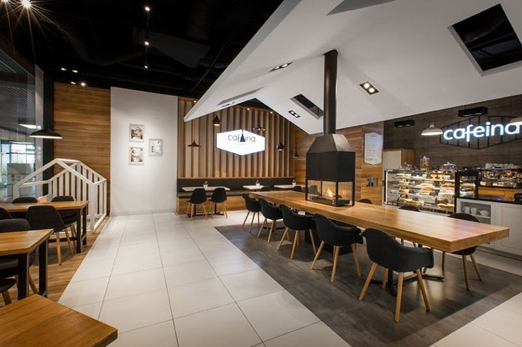 Ideas Creativas Interesantes En El Diseno De Varios Cafes Europeos - Diseo-cafeterias-modernas