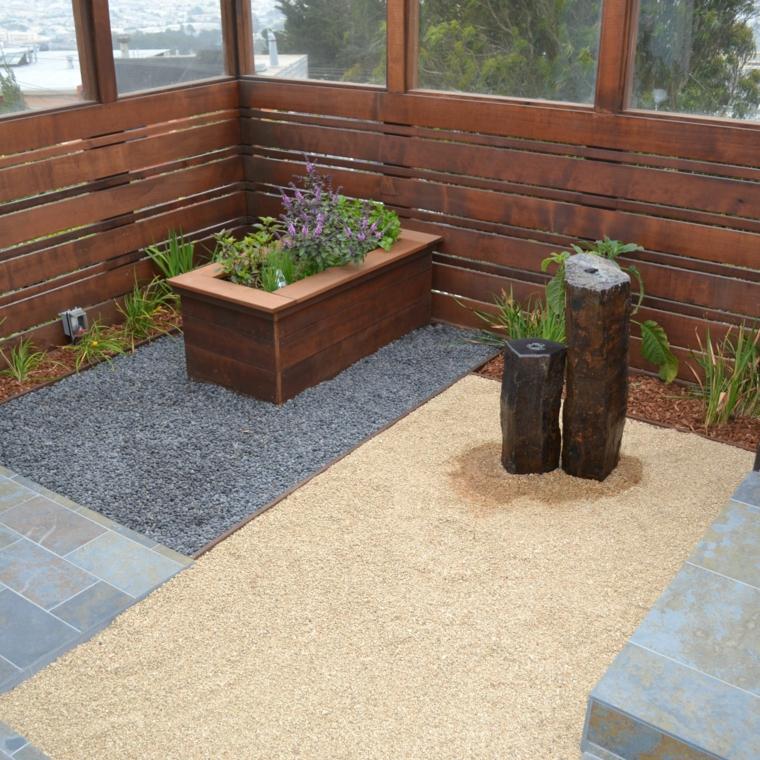 estupendos hermosos jardines Zen