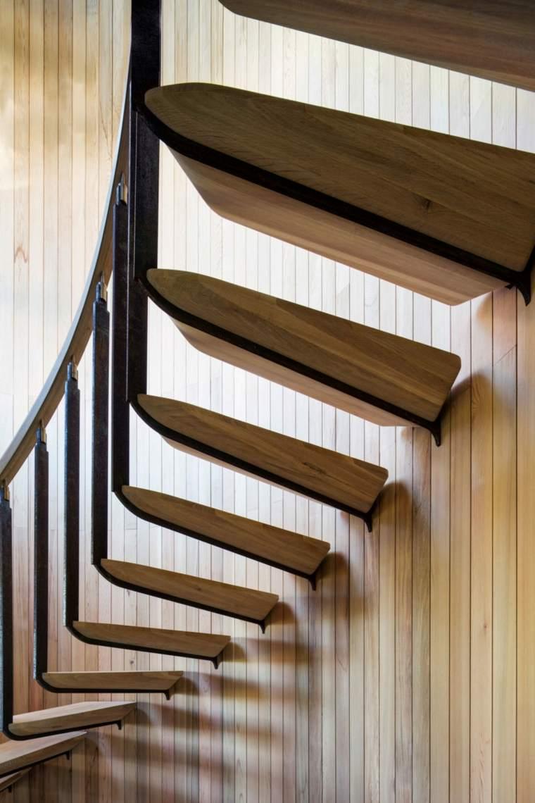 esaclera moderna especial madera