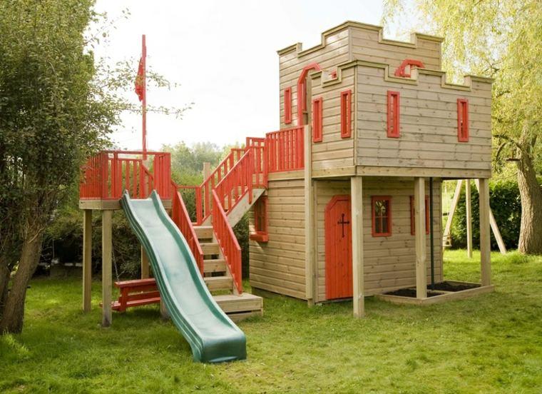 Casitas de jardin para niños - originales ideas inspiradoras Diy -