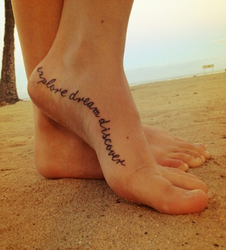 frases para tatuar pie
