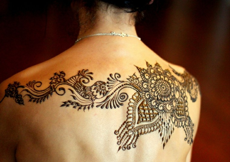henna tatuaje