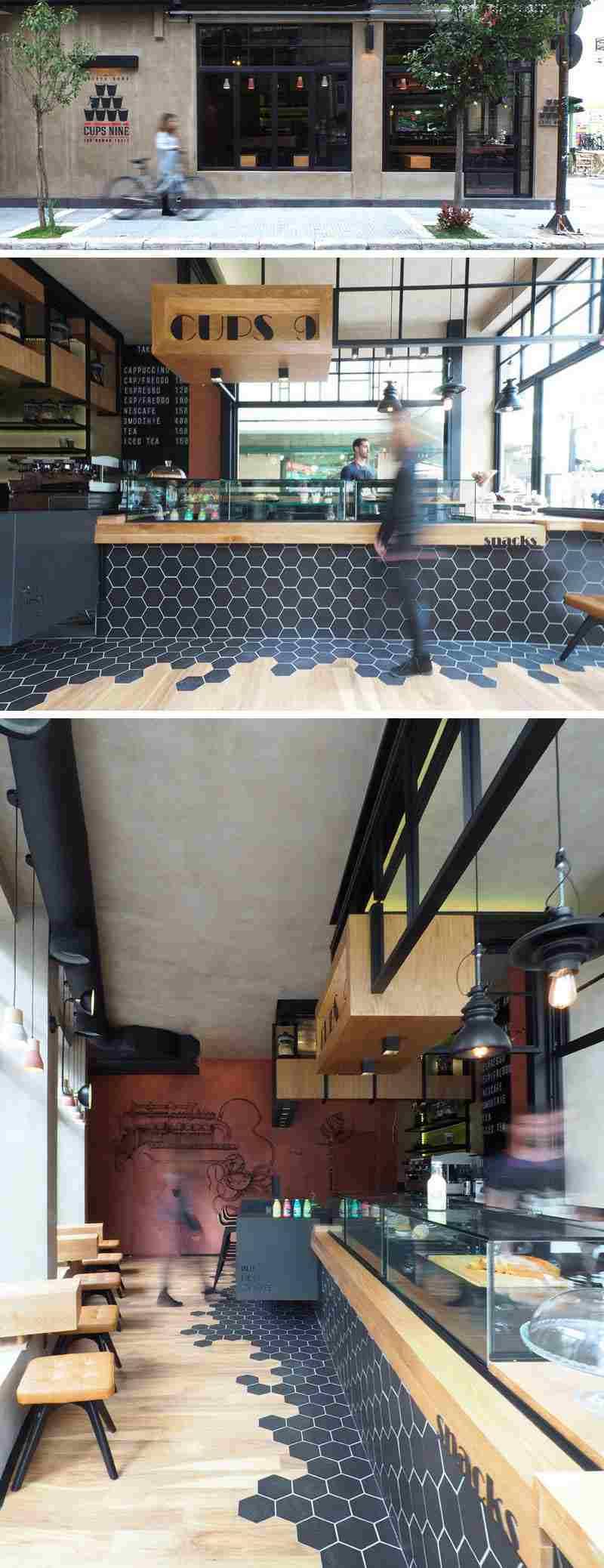 ideas creativas acentos negro madera