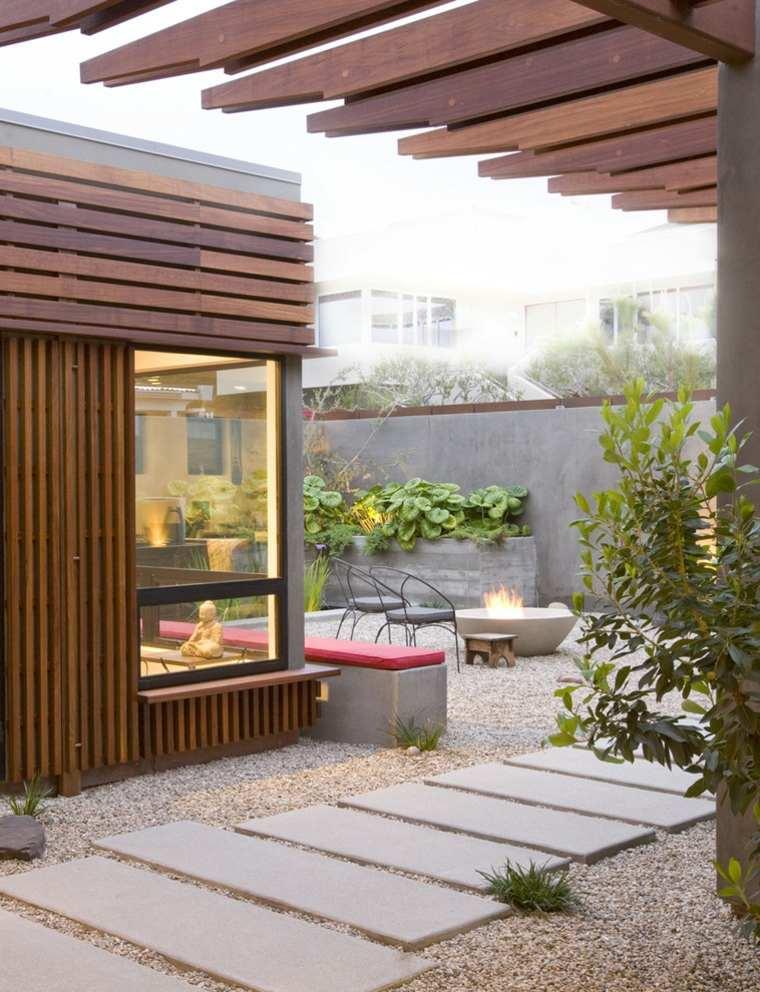 patio Zen moderno