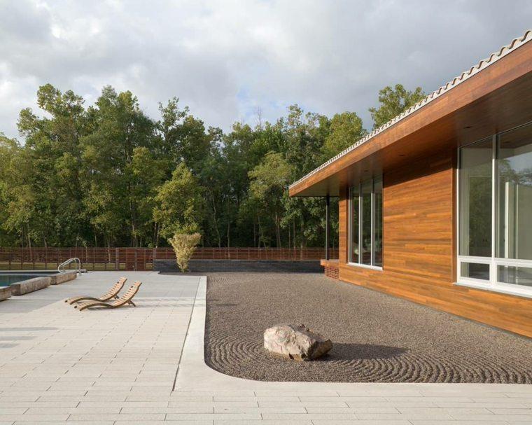 patio Zen minimalista