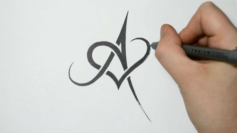 how to draw a letter e msw logo