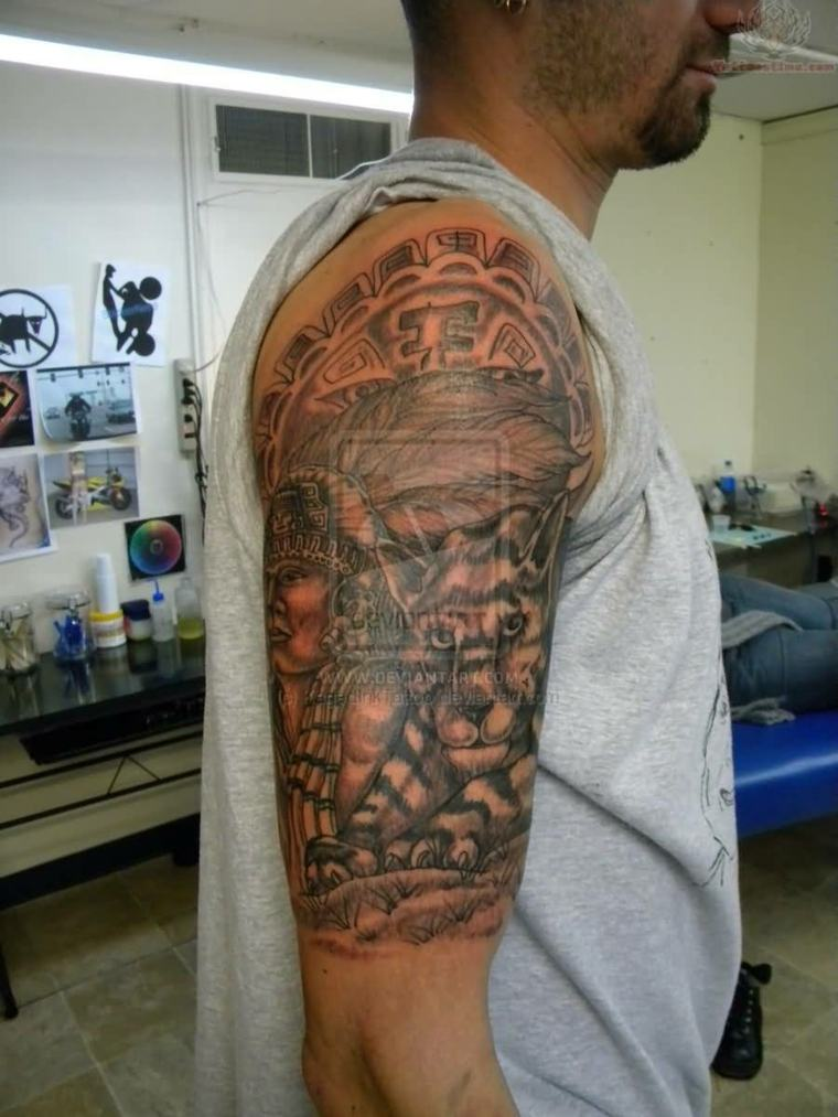 media manga tattoo moderno