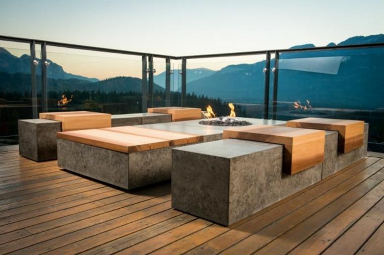 asientos terraza