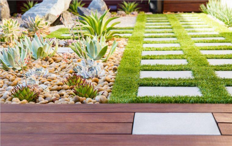 ideas jardines zen exteriores