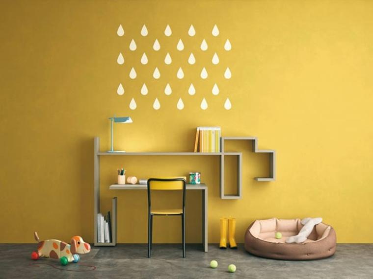 habitación amarilla