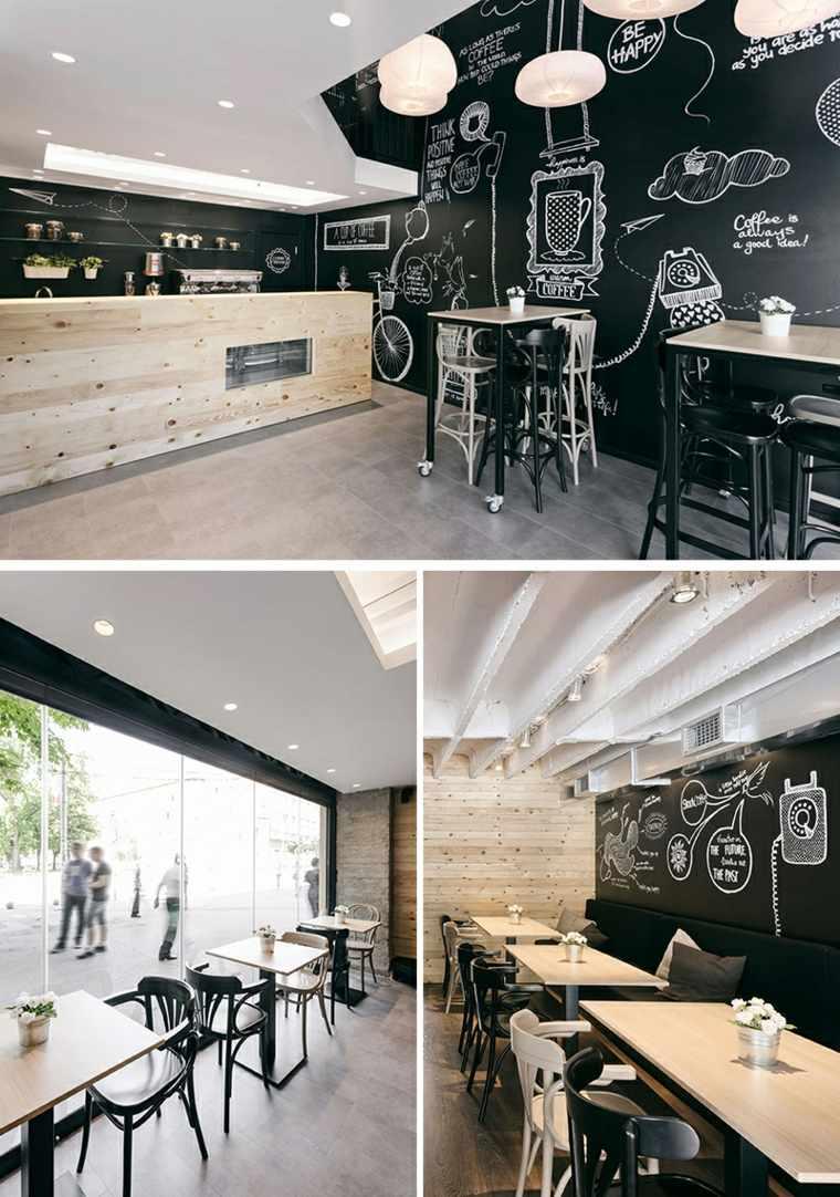 paredes estilo pizarra decoraciones
